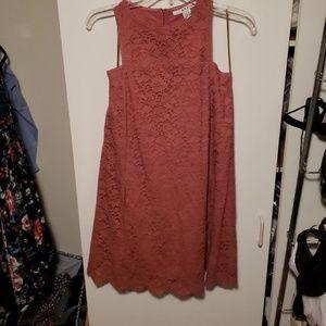 Lace tent dress